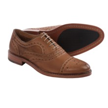 Johnston & Murphy McGavock Cap-Toe Oxford Shoes - Leather (For Men) in Tan - Closeouts