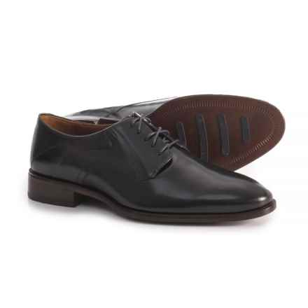 Johnston & Murphy Nolen Plain-Toe Oxford Shoes - Leather (For Men) in Black - Closeouts