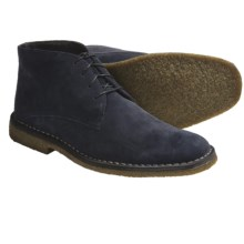Johnston & Murphy Runnell Chukka Boots - Suede (For Men) in Blue Suede - Closeouts