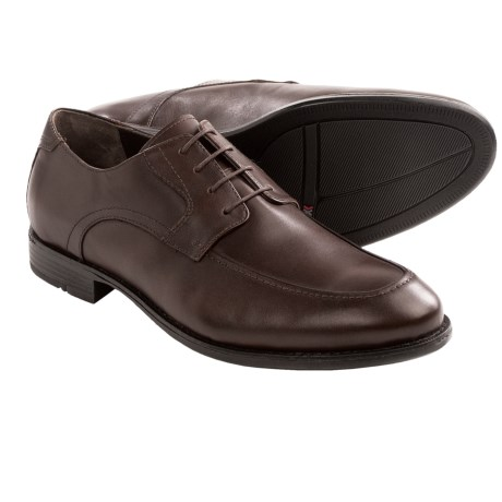 Johnston & Murphy Russell Shoes - Leather, Moc Toe, Lace-Ups (For Men