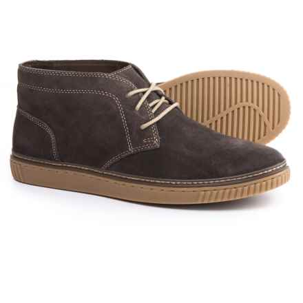 Johnston & Murphy Wallace Chukka Boots - Suede (For Men) in Gray Suede - Closeouts