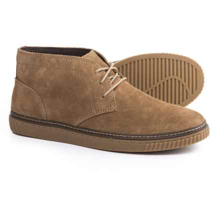 Johnston & Murphy Wallace Chukka Boots - Suede (For Men) in Taupe Suede - Closeouts