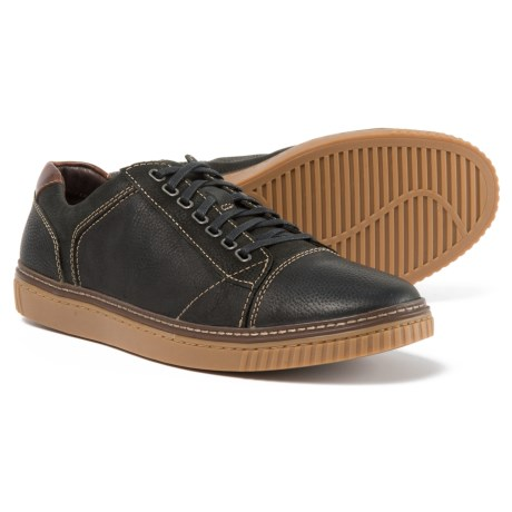 Johnston & Murphy Wallace Sneakers - Leather (For Men) in Black