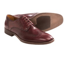 Johnston & Murphy Westmore Wingtip Shoes (For Men) in Burgundy - Closeouts