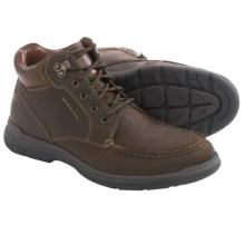 Johnston & Murphy Wickman Moc-Toe Boots - Leather (For Men) in Brown - Closeouts