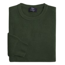 Johnstons of Elgin Cashmere Cardigan Stitch Sweater (For Men) in Pine - Closeouts