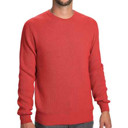 Johnstons of Elgin Cashmere Cardigan Stitch Sweater (For Men) in Seville - Closeouts