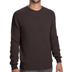 Johnstons of Elgin Cashmere Cardigan Stitch Sweater (For Men) in Smoke