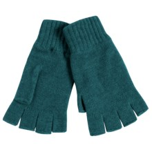 Johnstons of Elgin Cashmere Fingerless Gloves (For Women) in Seville - Closeouts