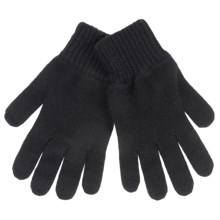 Johnstons of Elgin Cashmere Gloves (For Women) in Black - Closeouts