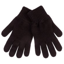 Johnstons of Elgin Cashmere Gloves (For Women) in Cocoa - Closeouts