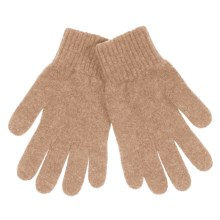 Johnstons of Elgin Cashmere Gloves (For Women) in Fawn - Closeouts