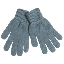 Johnstons of Elgin Cashmere Gloves (For Women) in Frost - Overstock