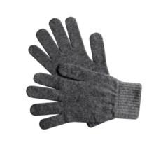 Johnstons of Elgin Cashmere Gloves (For Women) in Lead - Overstock