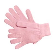 Johnstons of Elgin Cashmere Gloves (For Women) in Rose Pink - Overstock