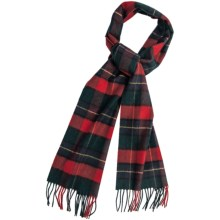 Johnstons of Elgin Cashmere Scarf (For Men and Women) in Kilgour - Closeouts