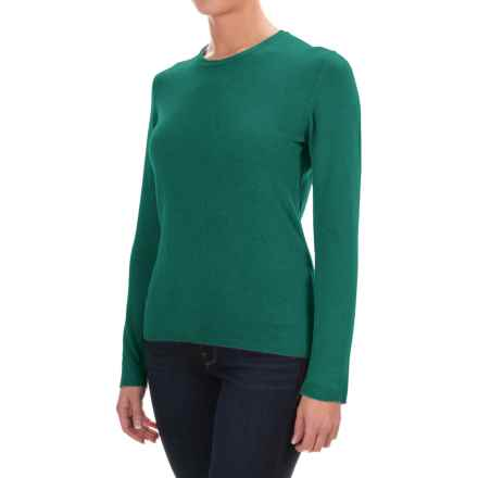 Johnstons of Elgin Cashmere Sweater (For Women) in Blaize - Closeouts