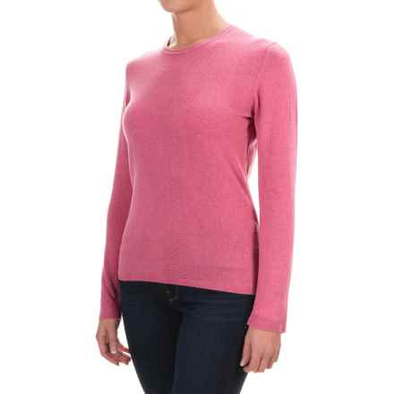 Johnstons of Elgin Cashmere Sweater (For Women) in Old Rose - Closeouts