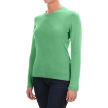 Johnstons of Elgin Cashmere Sweater (For Women) in Pistachio - Closeouts
