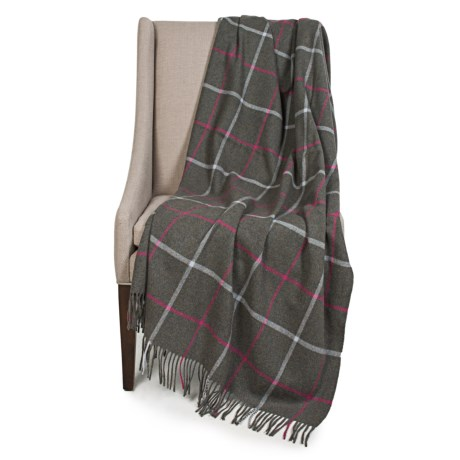 Johnstons of Elgin Limited Edition Lambswool Blanket - 55x67""