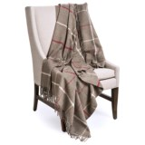 Johnstons of Elgin Limited Edition Throw Blanket - Lambswool, 67x55""