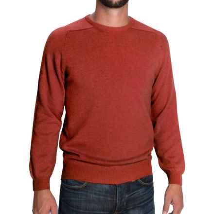 Johnstons of Elgin Scottish Cashmere Sweater (For Men) in Bracken - Closeouts
