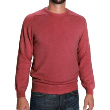 Johnstons of Elgin Scottish Cashmere Sweater (For Men) in Crabapple - Closeouts