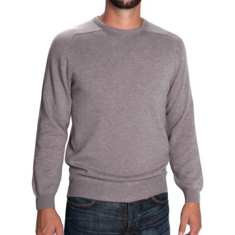 Johnstons of Elgin Scottish Cashmere Sweater (For Men)