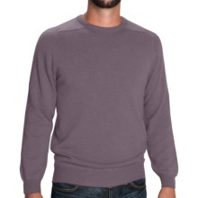 Johnstons of Elgin Scottish Cashmere Sweater (For Men) in Pigeon - Closeouts