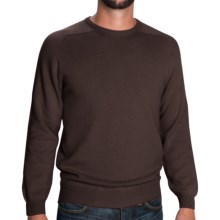 Johnstons of Elgin Scottish Cashmere Sweater (For Men) in Smoke - Closeouts