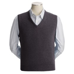 Johnstons of Elgin Scottish Cashmere Vest (For Men) in Comet