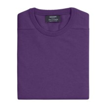 Johnstons of Elgin Sweater - Scottish Cashmere (For Men) in African Violet - Closeouts