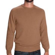 Johnstons of Elgin Sweater - Scottish Cashmere (For Men) in Caramel - Closeouts