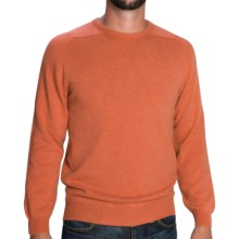 Johnstons of Elgin Sweater - Scottish Cashmere (For Men) in Cinnamon - Closeouts