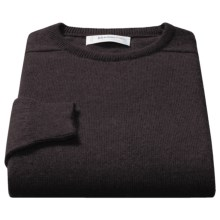 Johnstons of Elgin Sweater - Scottish Cashmere (For Men) in Cocoa - Closeouts