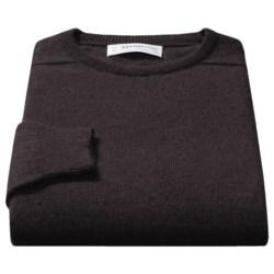 Johnstons of Elgin Sweater - Scottish Cashmere (For Men) in Mustard