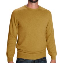 Johnstons of Elgin Sweater - Scottish Cashmere (For Men) in Gold - Closeouts