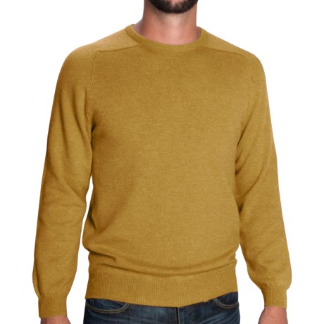 Johnstons of Elgin Sweater - Scottish Cashmere (For Men) in Ivory