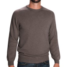Johnstons of Elgin Sweater - Scottish Cashmere (For Men) in Heath - Closeouts