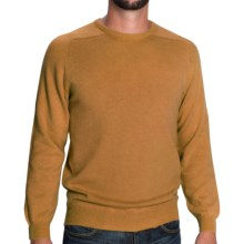 Johnstons of Elgin Sweater - Scottish Cashmere (For Men) in Linen - Closeouts