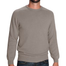Johnstons of Elgin Sweater - Scottish Cashmere (For Men) in Mushroom - Closeouts
