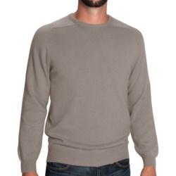 Johnstons of Elgin Sweater - Scottish Cashmere (For Men) in Summer Rose