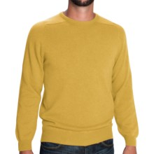 Johnstons of Elgin Sweater - Scottish Cashmere (For Men) in Mustard - Closeouts