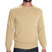 Johnstons of Elgin Sweater - Scottish Cashmere (For Men) in Oatmeal - Closeouts