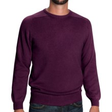 Johnstons of Elgin Sweater - Scottish Cashmere (For Men) in Otter - Closeouts
