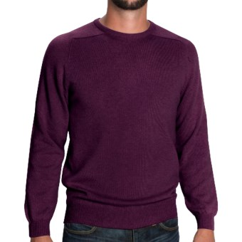 Johnstons of Elgin Sweater - Scottish Cashmere (For Men) in Otter