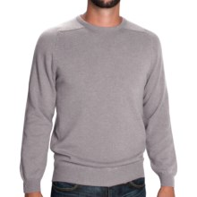 Johnstons of Elgin Sweater - Scottish Cashmere (For Men) in Silver - Closeouts