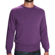 Johnstons of Elgin Sweater - Scottish Cashmere (For Men) in Thistle - Closeouts