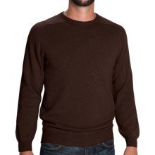 Johnstons of Elgin Sweater - Scottish Cashmere (For Men) in Treacle - Closeouts