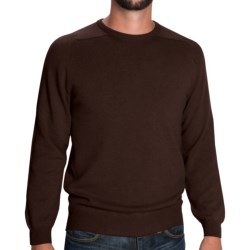 Johnstons of Elgin Sweater - Scottish Cashmere (For Men) in Mustard